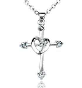 Korssmykke med hjerte #2